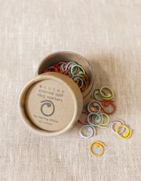cocoknits, colored split ring markers
