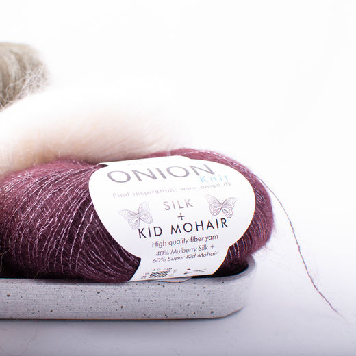 onion kid-mohair silk